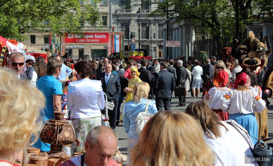 Дни Новгородской области собрали тысячи посетителей