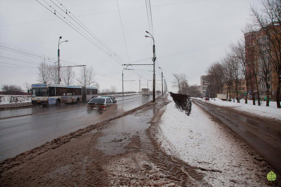 Тротуар на виадуке