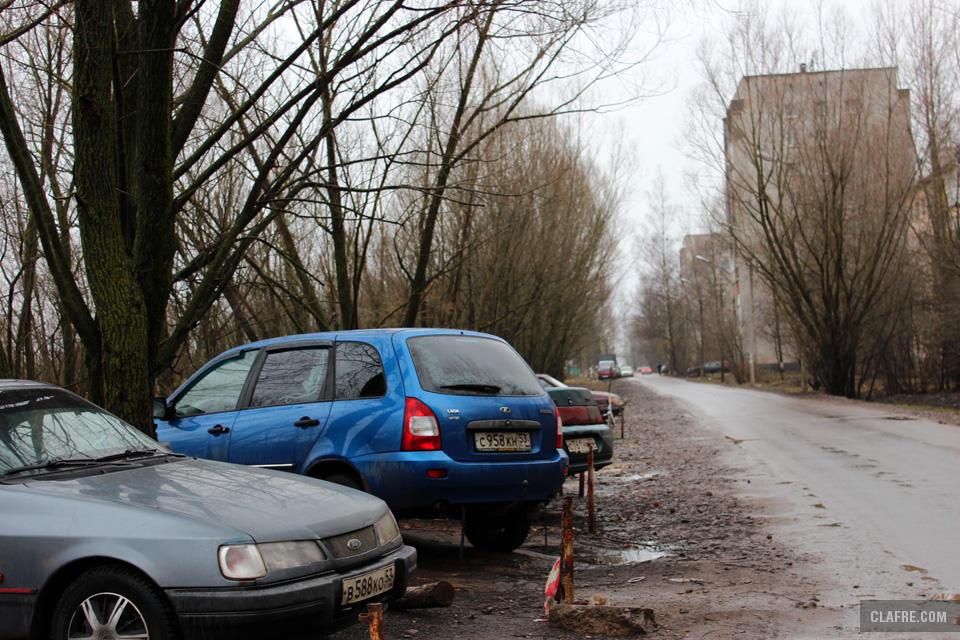 Парковка на Космонавтов