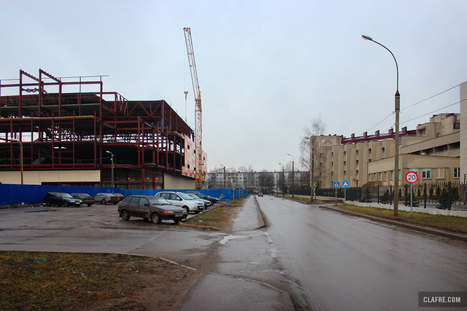 Улица Боткина, парковка