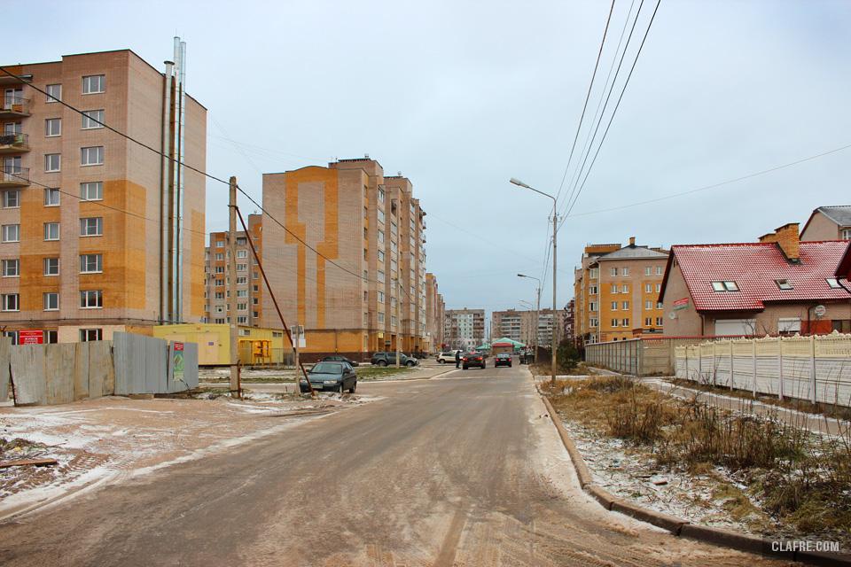 Выезд к Псковской улице