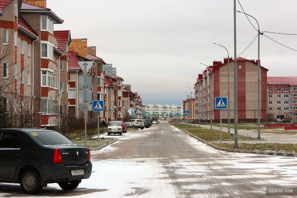 Белорусская улица у пересечения с Каберова-Власьесвской
