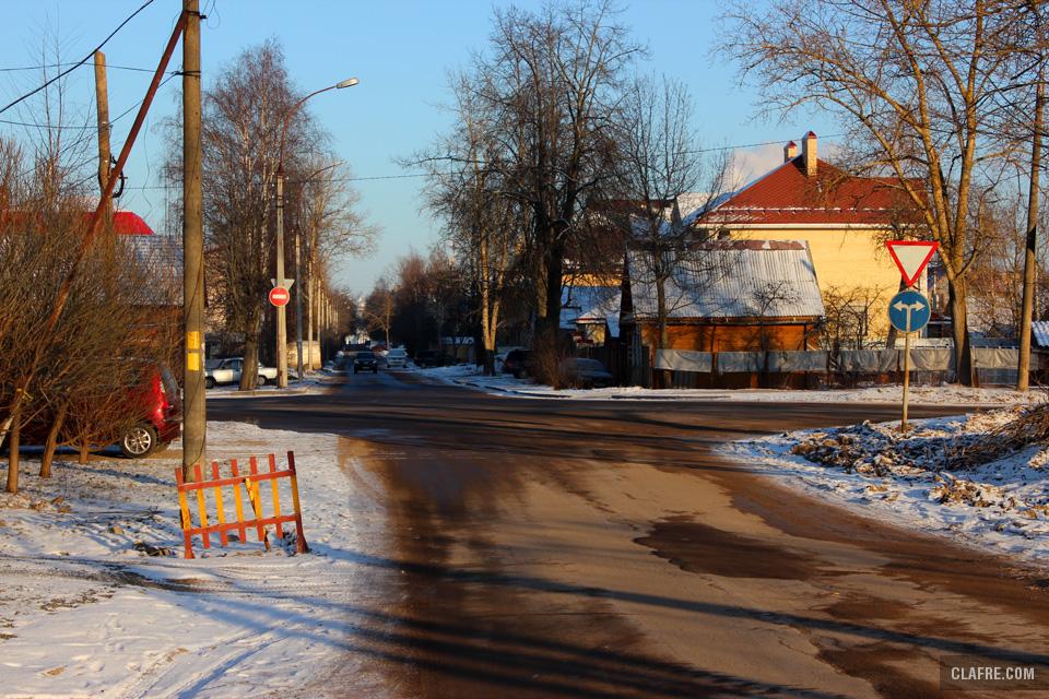 Пересечение Каберова-Власьевской и Орловской улиц