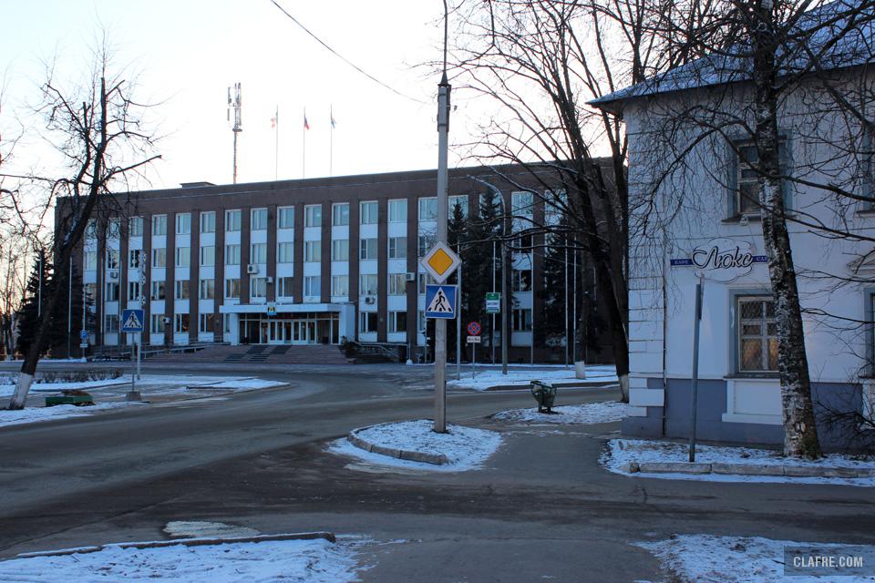 Здание Администрации Великого Новгорода