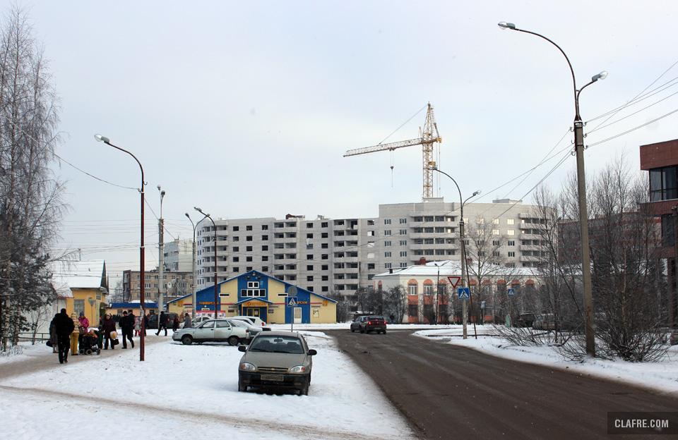 Вид на проспект Корсунова