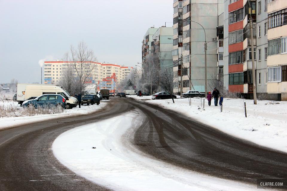 Улица Коровникова от улицы Зелинского