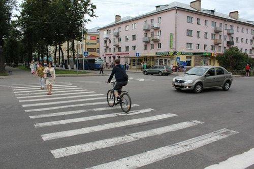 Переезд на велосипеде по пешеходному переходу запретят