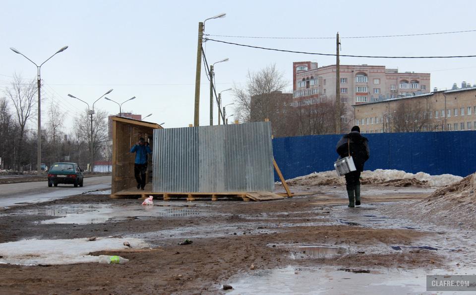Выход на улицу Ломоносова
