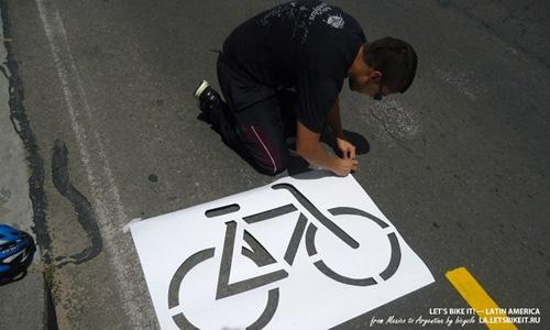 Городские вело-интервенции в Боготе