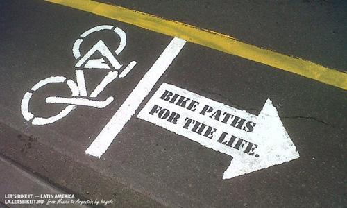 Городские вело-интервенции в Боготе. 19 мая 2013 года