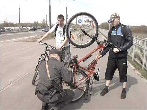 Проверка серийного номера на раме велосипеда
