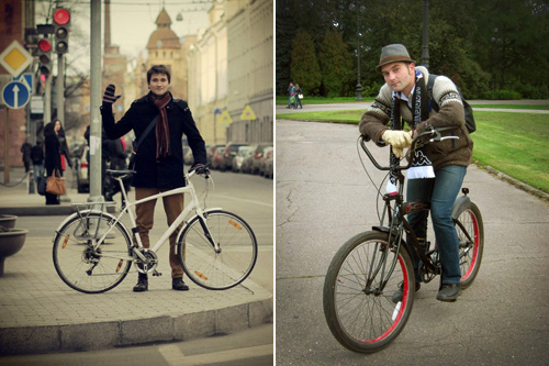 Инструкторы велошколы Михаил Морозов и Александр Кожанов