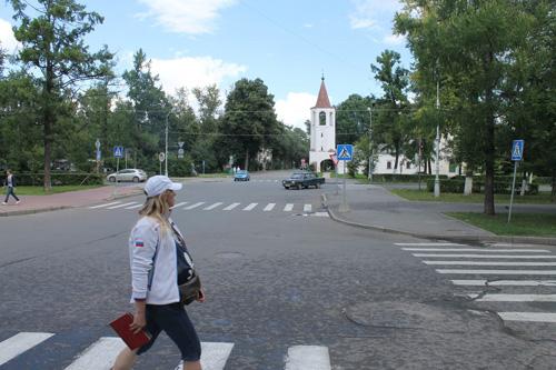 Великий Новгород очень тихий и спокойный