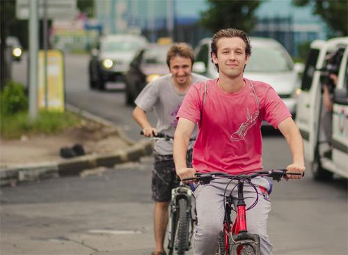 Велосипедный «забег»