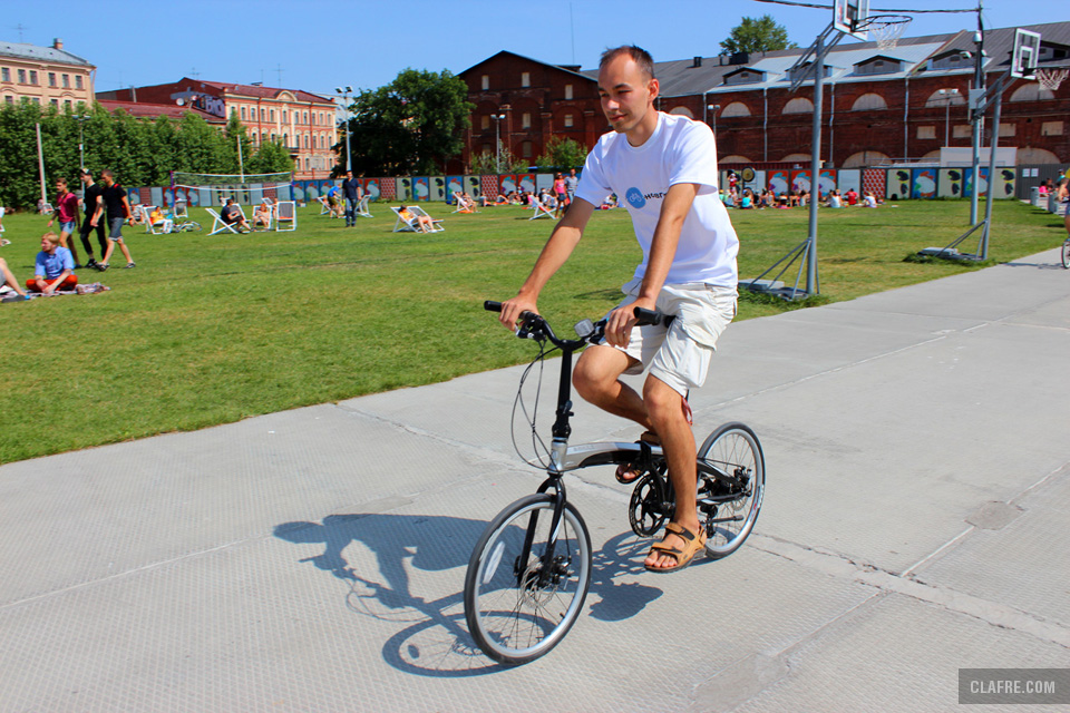Тест-драйв велосипеда