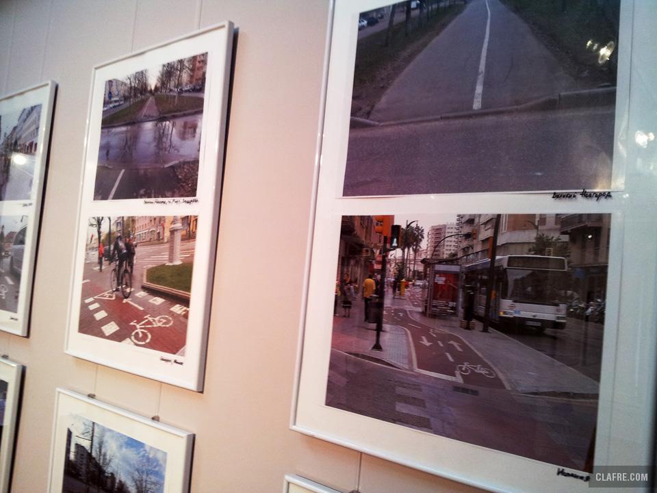 Велосипедный блок выставки