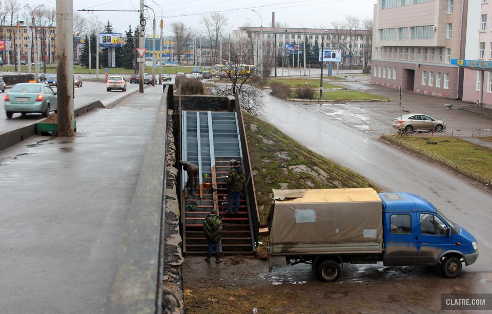 Путепровод по проспекту А. Корсунова