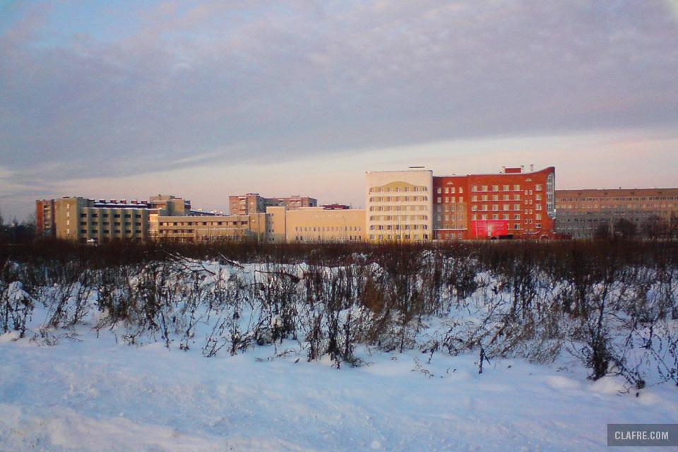 Улица Боткина, вид с бульвара Юности, декабрь 2010