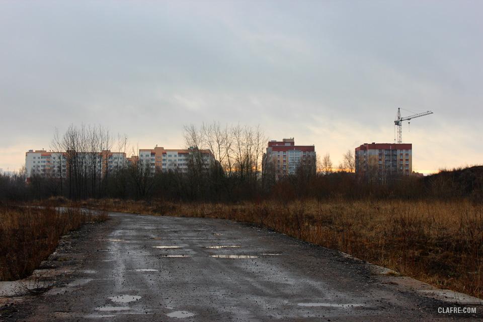 Будущий парк в завокзальном районе