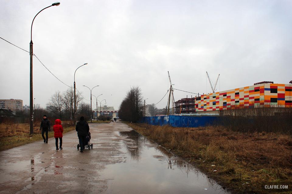 Бульвар Юности. Будущий парк 1150-летия Великого Новгорода
