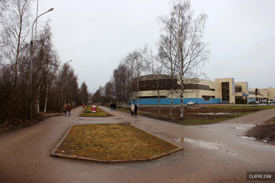 Бульвар Юности и Ледовый дворец