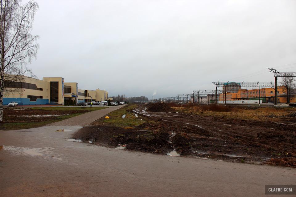 Ледовый дворец на улице Космонавтов