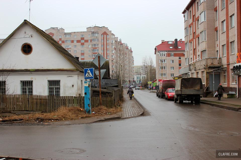 Пересечение Зелёной и Донецкой улиц