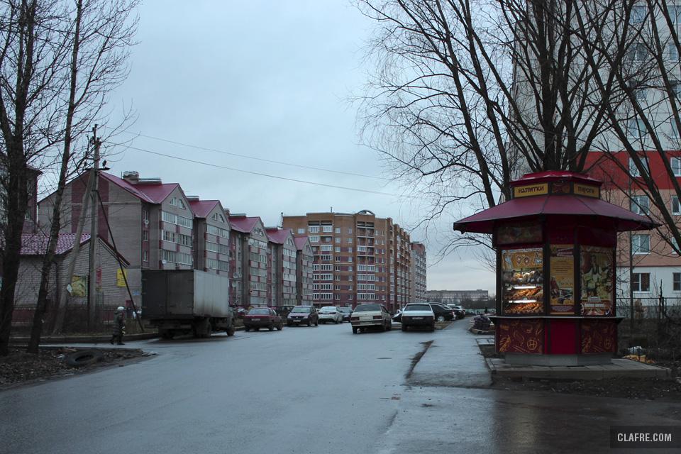 Тротуар в Завокзальный микрорайон