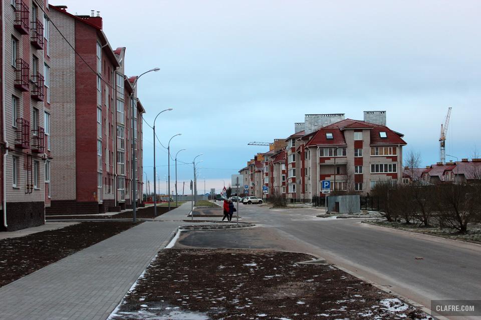 Белорусская улица от Озёрной улицы
