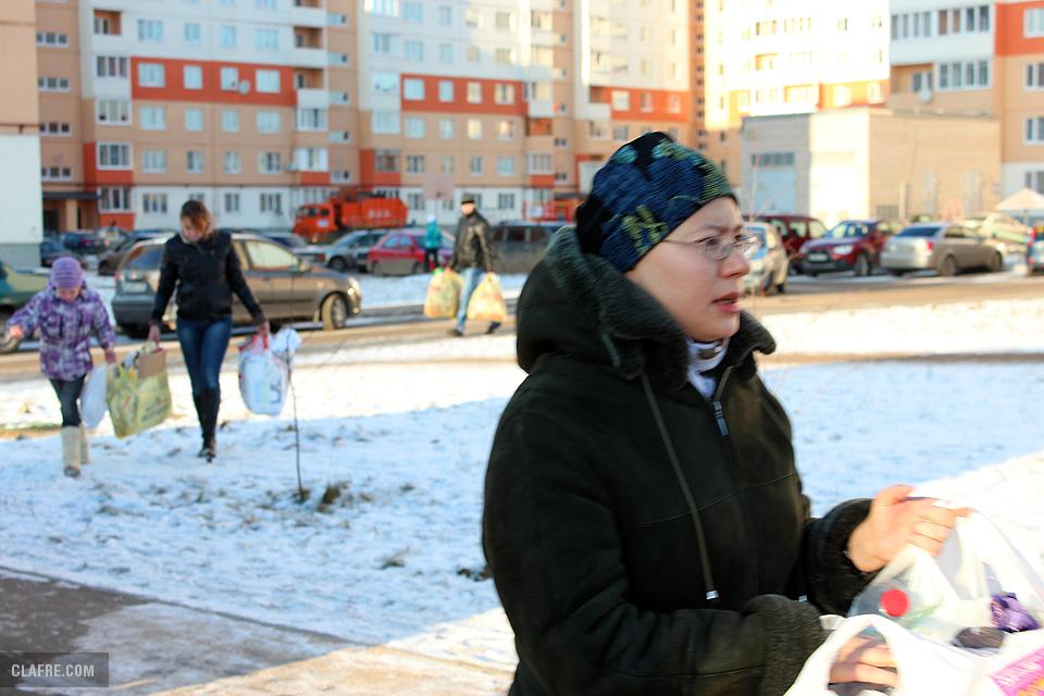Жители Завокзального района вереницей идут сдавать вторсырьё