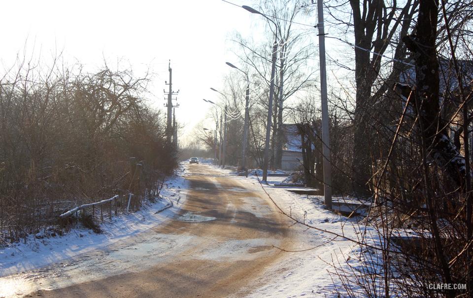 Окончание существующего участка улицы