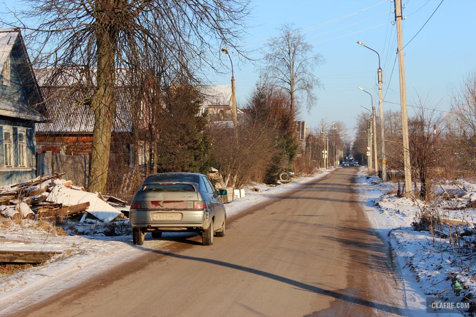 Каберова-Власьевская улица похожа на деревенскую