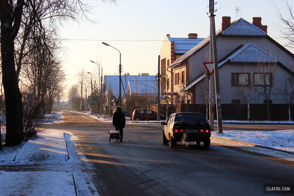 На выезде на Орловскую улицу