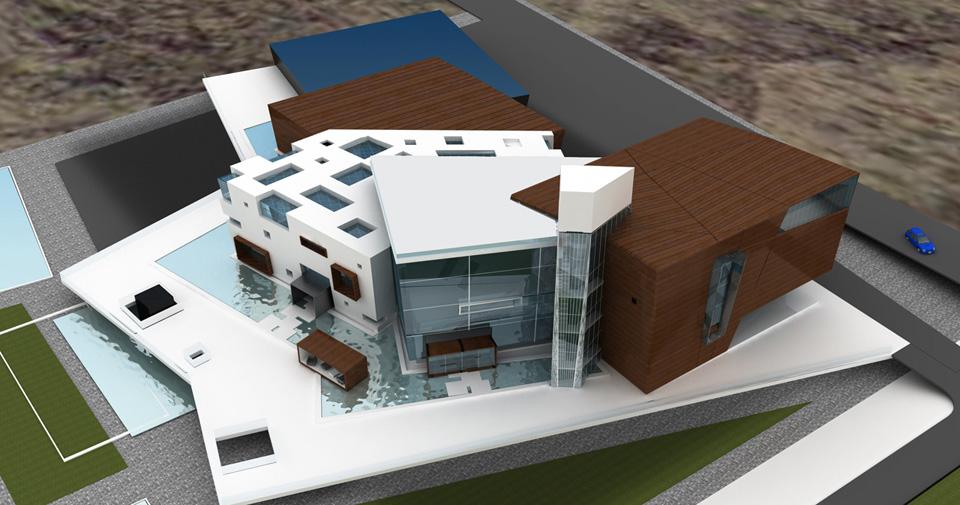 Визуализация торгового центра Элегия
