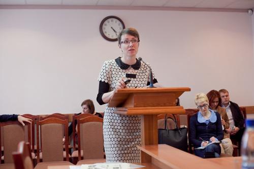 Депутат Елена Михайлова. Фото Анны Соколовой