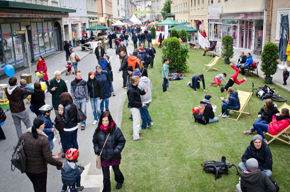 Уличный фестиваль в Австрии