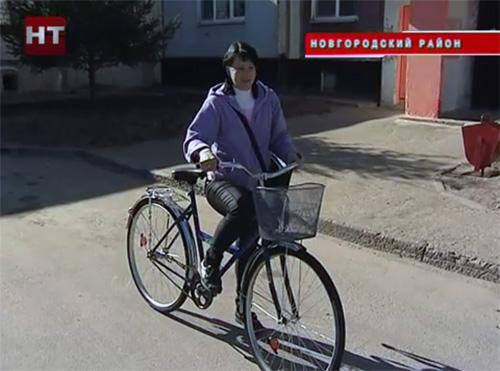 Почтальонам для работы предоставлены индивидуальные транспортные средства
