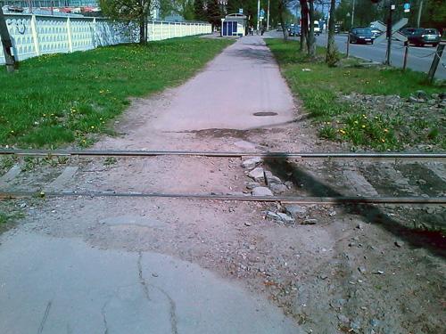 Переезд на улице Черепичной