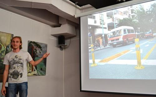 Владимир Кумов на лекции Уроки велосипедизации