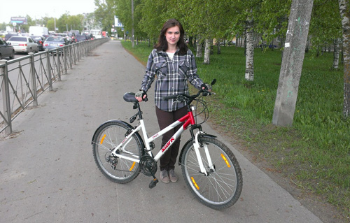 Участница проекта Великоновгородцы, Юлия Беличенко