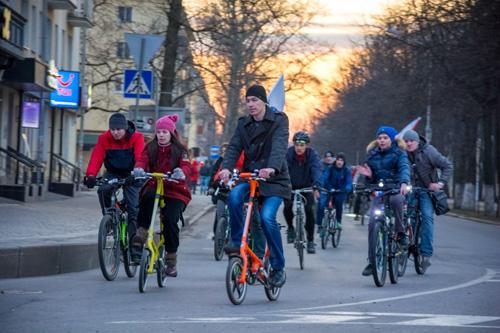 Велосипедный заезд
