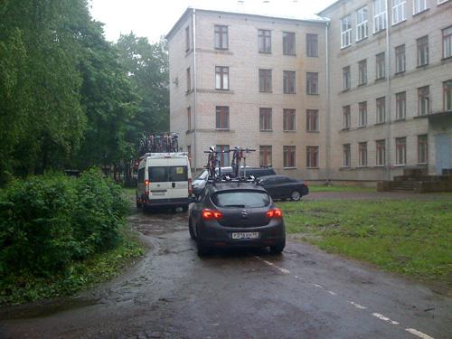 Новгородские велосипедисты отправились в спортивный лагерь