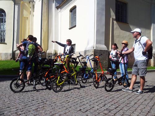 Велоэкскурсия по Великому Новгороду