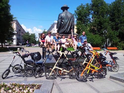 Велопрогулка по Великому Новгороду