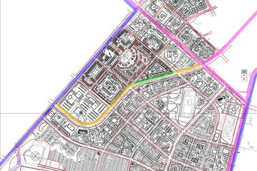 Возможная схема велодорожек Псковского района