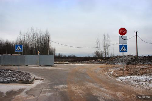Перекрёсток Каберова-Власьевской и Речной