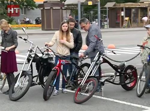 Велосипедный променад в Великом Новгороде