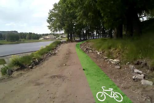 Велодорожки в Пскове