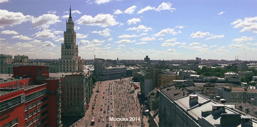 Московский велопарад 2014
