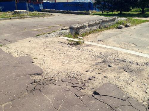 Тротуары Великого Новгорода